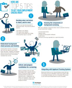Here are top 5 tips to get your employment checks right | HR Features - HR Magazine | HR Online