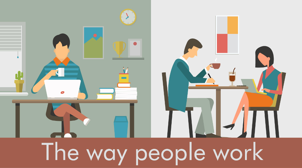 The way people work